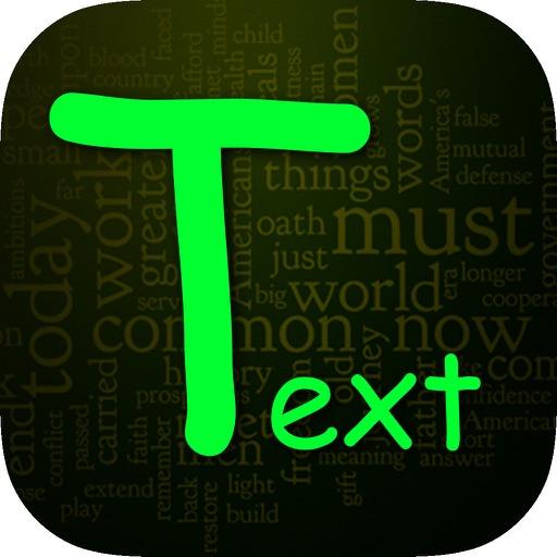 Fancy Text Maker-Wallpaper & Background Maker iOS App