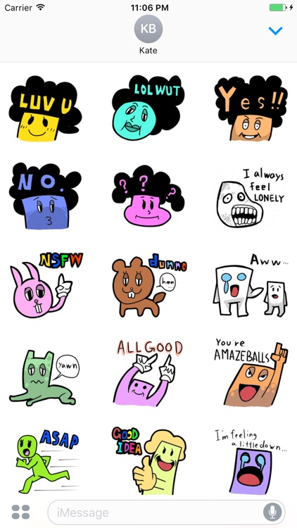 A Bundle Of Cute Stickers
