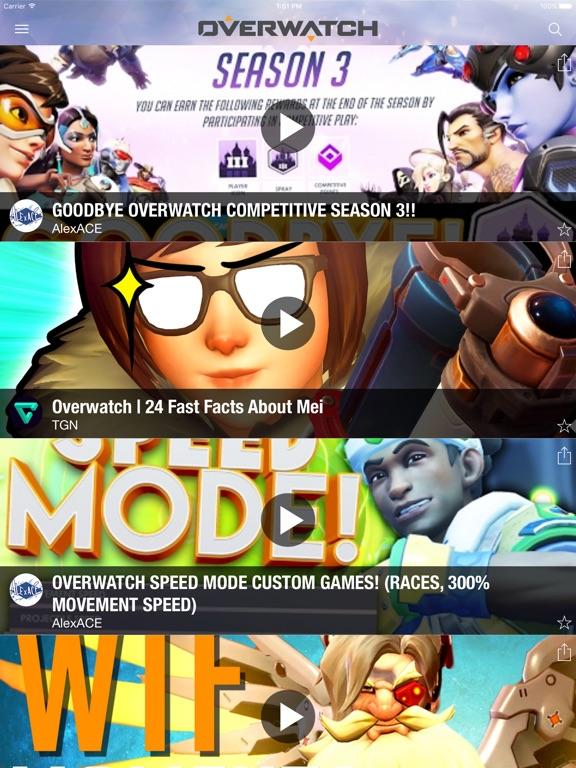 OVERtube - Best Videos for Overwatch-ipad-0