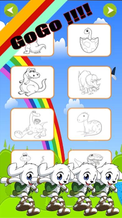 Coloring Book Cartoons For Kids Screenshot