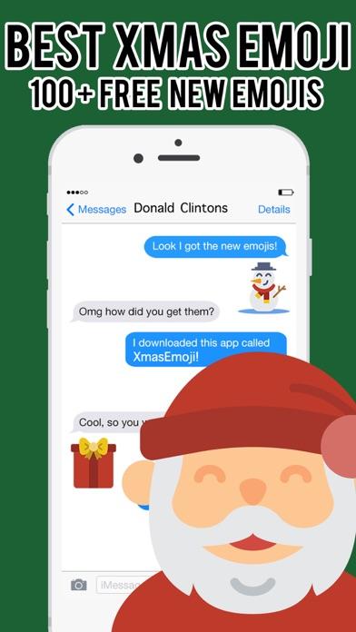 XmasEmoji - Christmas Emojis Stickers Keyboard Pro screenshot one