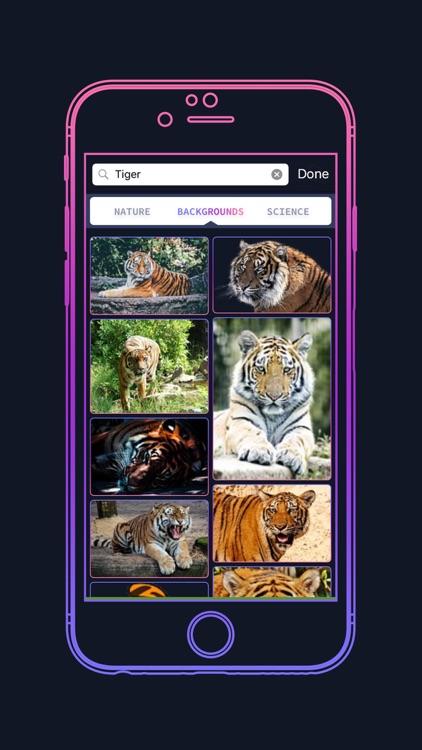 WALLPPR - High resolution HD wallpapers for iphone screenshot-3