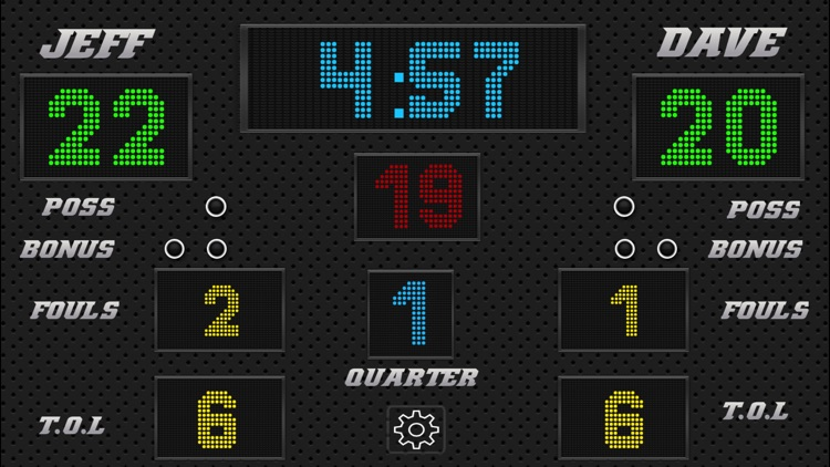 Basketball Scoreboard - Remote Scorekeeping screenshot-2