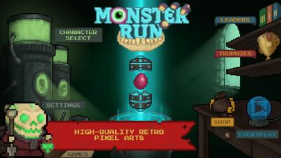 Monster Run. Free pixel-art platformer på PC
