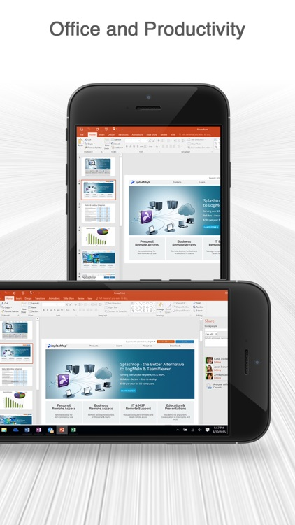 Splashtop Personal - Remote Desktop for iPhone app image