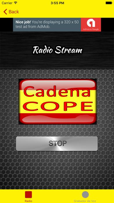 Radio España - Emisoras de España screenshot two