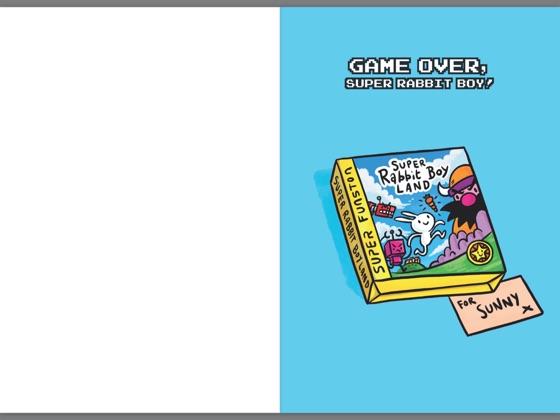 Game Over, Super Rabbit Boy! A Branches Book (Press Start ...