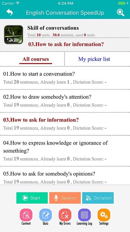 Ais English - English Conversation SpeedUp screenshot-3