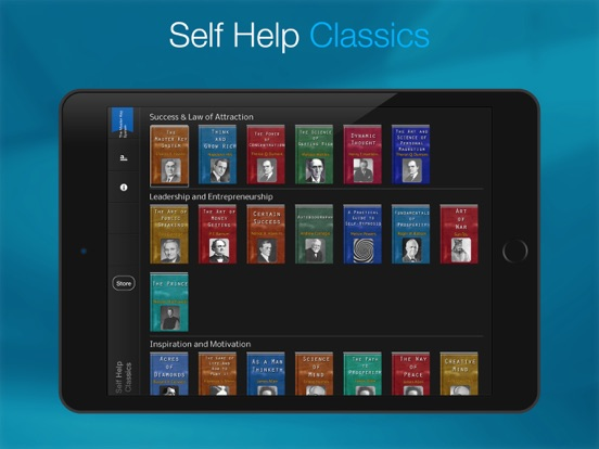 Self Help Classics . Screenshots