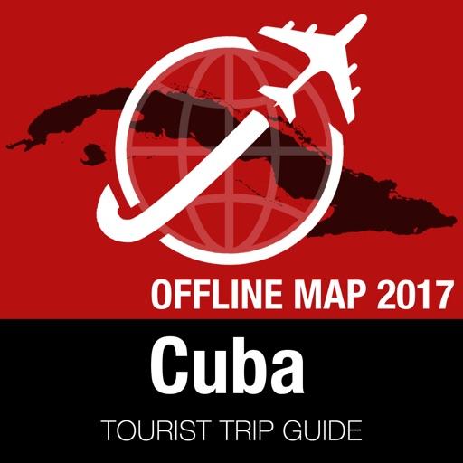 Cuba Tourist Guide + Offline Map