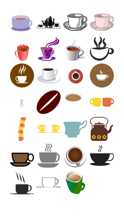 More Coffee Sticker Pack!