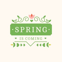 Spring is coming Animated Stickers
