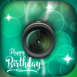 Birthday Frames - Photo Blend & Bokeh Effect
