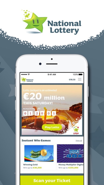 Lottery.ie screenshot-0