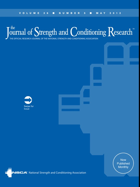 The Journal of Strength & Conditioning Research