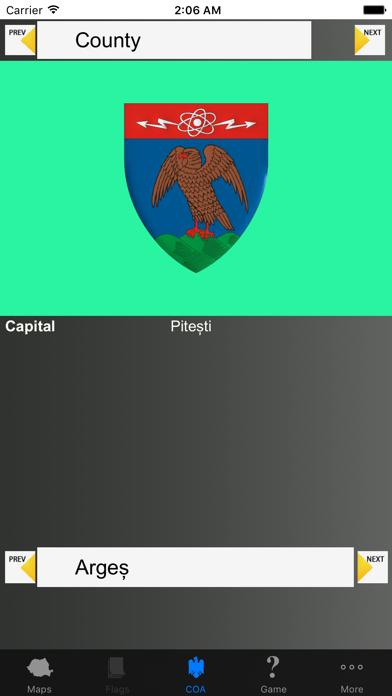 Romania Region Maps and Capitals screenshot three