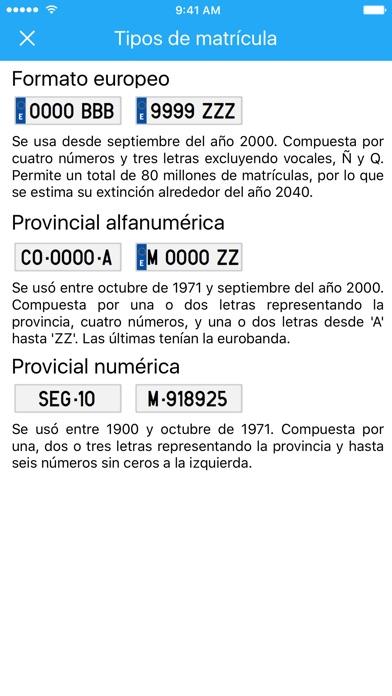 download Matrículas españolas apps 0