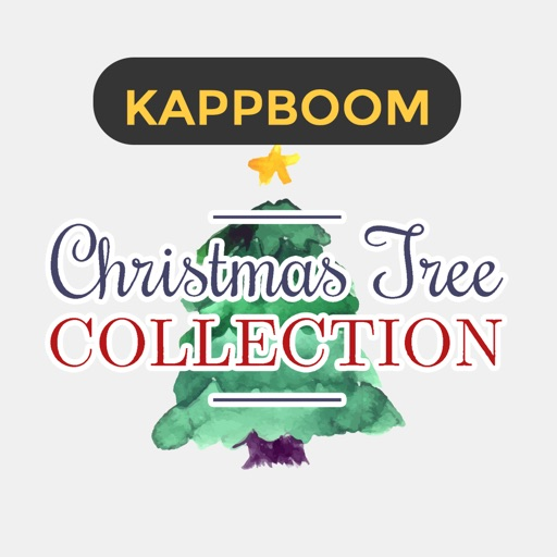 Christmas Tree Stickers by Kappboom