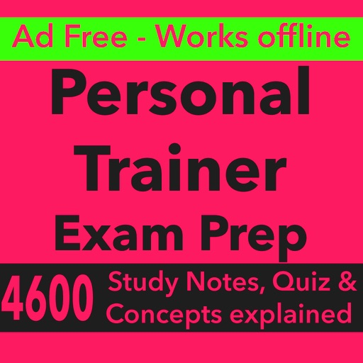 Personal Trainer Exam Prep App For Self Learning