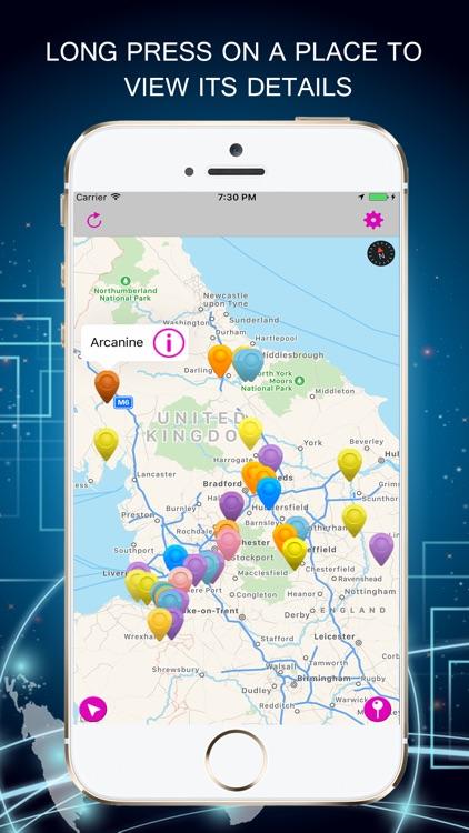 PokeRadar-Poke Radar Go Map Vision For Pokémon GO