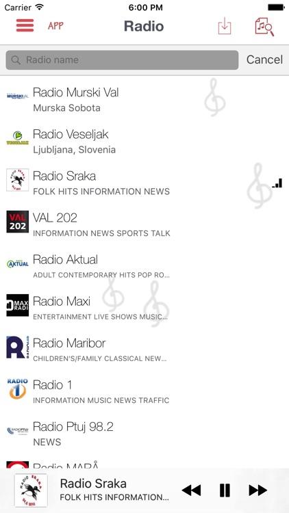 Slovene Radio LIve - Internet Stream Player screenshot-4