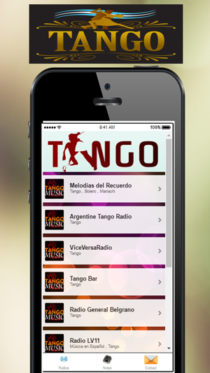 A+ Tango Music Radio on the App Store