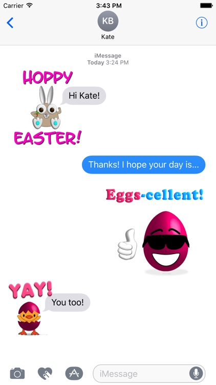 Chicks, Bunnies and Eggs - Springtime Sticker Fun