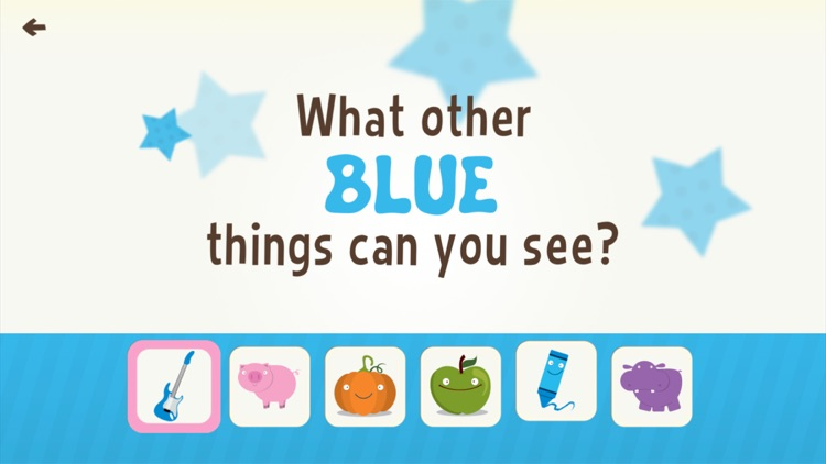 Toddler Learning Games Ask Me Colors Games Free screenshot-0