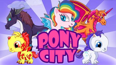 Pony City - Girls pet unicorn evolution games by Zia U (iOS