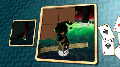 Jigsaw Solitaire Space screenshot one