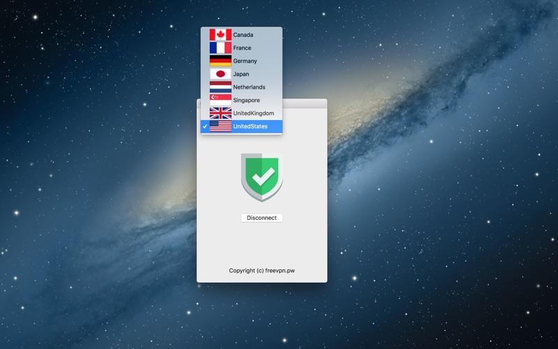 FreeVPN Unlimited Free VPN Proxy скриншот программы 2