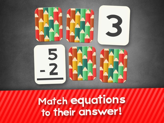 Subtraction Flash Cards Math Games for Kids Free-ipad-0