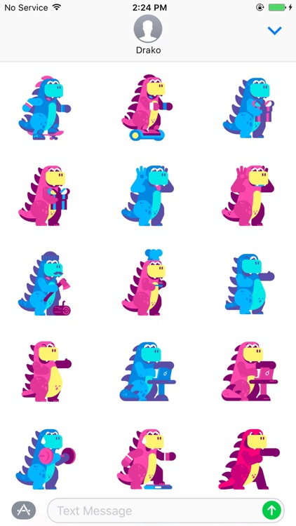 Drako Stickers screenshot-3