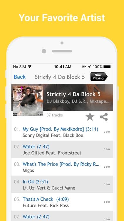 GetItLive - rap/hiphop livemixtapes & radio screenshot-3