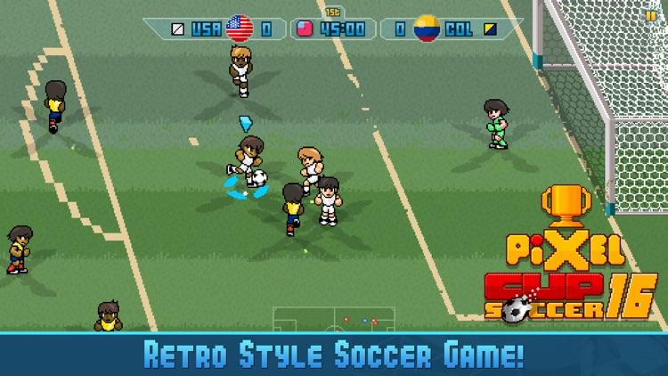 Pixel Cup Soccer 16 screenshot-0