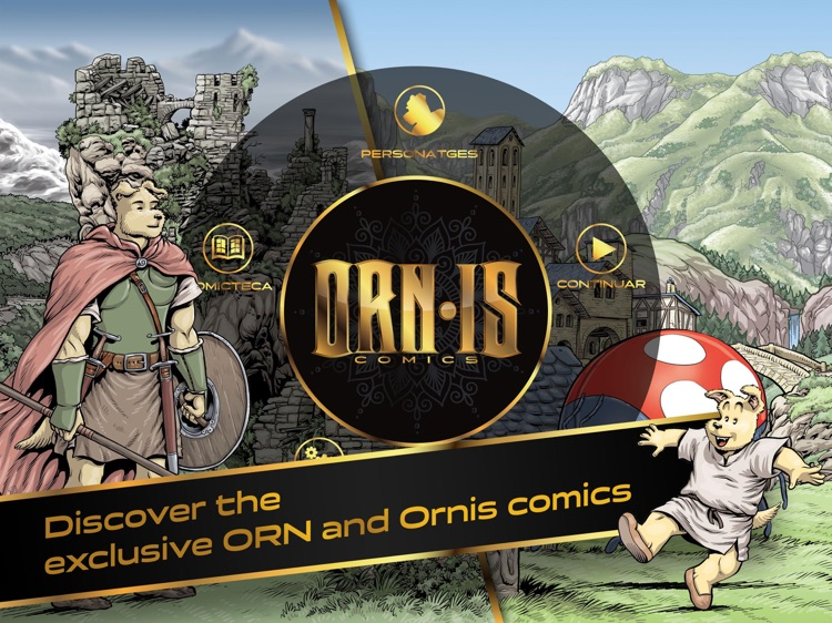 ORNIS Comic · An adventure story