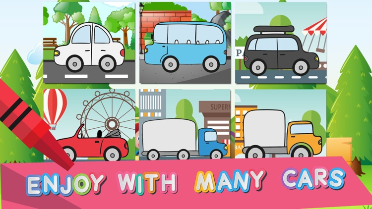 Mini Car Coloring - The painting car games