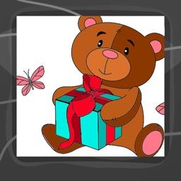 Teddy Bears Coloring Book