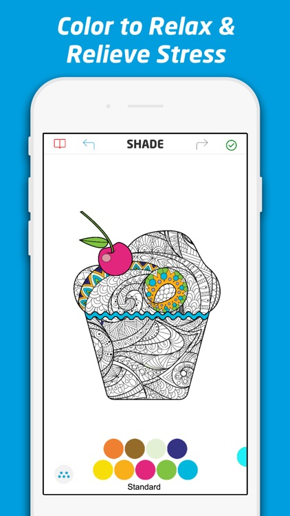 Adult Coloring Book Pages for Me, Adults, & Kids screenshot-3