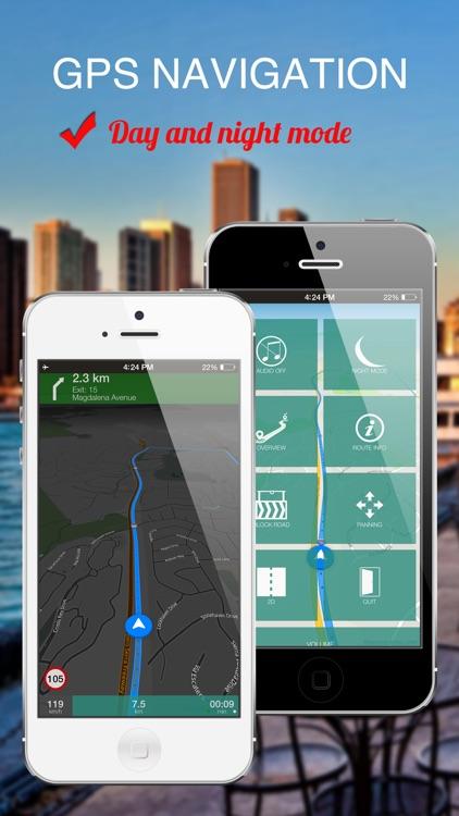 Ohio, USA : Offline GPS Navigation