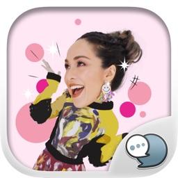 Sara Nalin Hohler Stickers & Keyboard By ChatStick