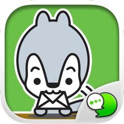 ANIMASCOT Stickers Emoji Keyboard By ChatStick