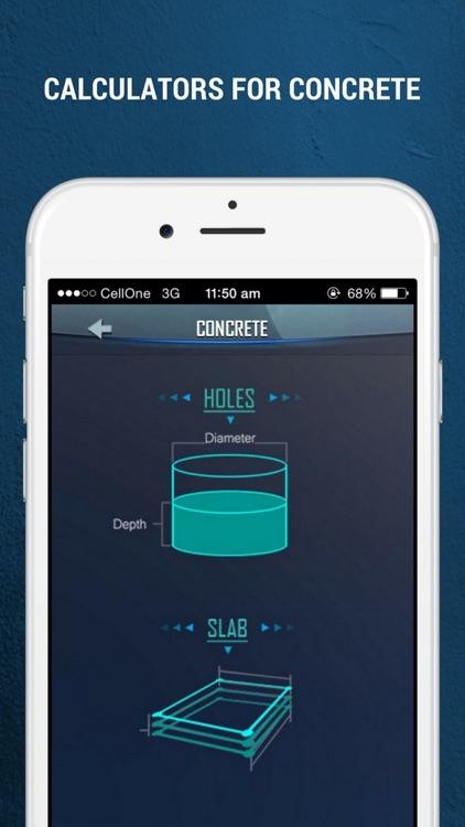 Builder Calculator - Measure Concrete Stair Angle screenshot-3