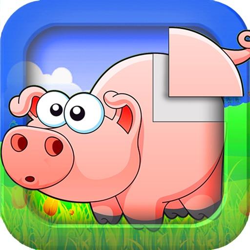 пазлы: Животные с фермы