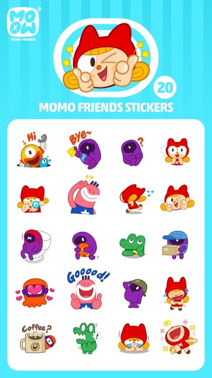 MOMO FRIENDS screenshot-3