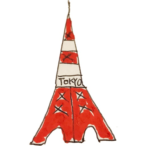 Japan Stickers - Simple illustration