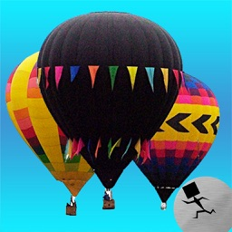 New Mexico Hot Air Balloon Stickers 2