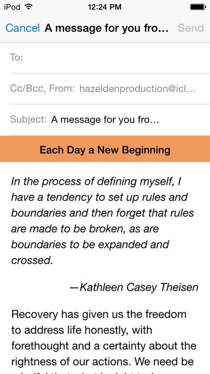Each Day a New Beginning: Meditations for Women screenshot-4