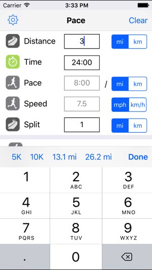 Running Pace On The App Store