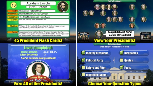 ‎Presidents vs Aliens